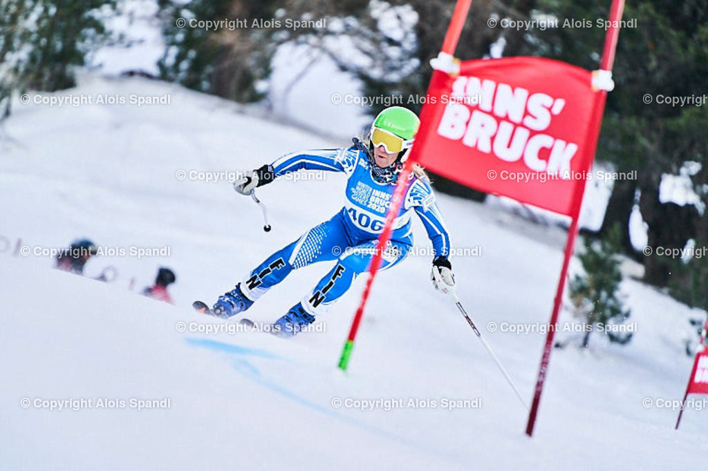 ALS5709_WWMG_GS-II_C | (C) FotoLois.com, Alois Spandl, WinterWorldMastersGames 2020 Innsbruck, Giant Slalom-II Gruppe C Damen, Patscherkofel Olympiaabfahrt, Mi 15. Jänner 2020.