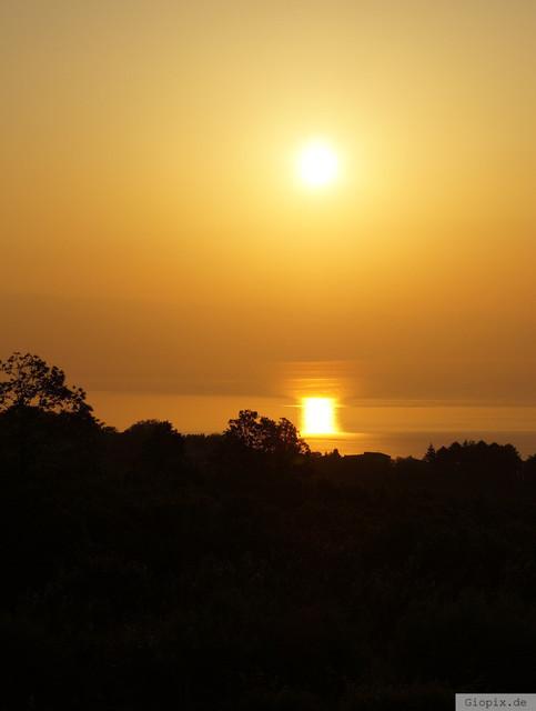 Sonnenaufgang Sizilien Ostküste | Ein typischer Sonnenaufgang an der Sizilianischen Ostküste