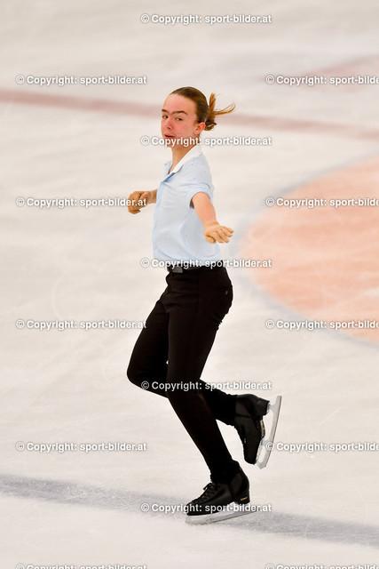 AUT, Eiskunstlaufen, Junior Grand Prix of Figure Skating 2021/2022   07.10.2021, Eishalle Linz, AUT, Eiskunstlaufen, Junior Grand Prix of Figure Skating 2021/2022, im Bild Tobia Oellerer (AUT) - Junior Men Short Program