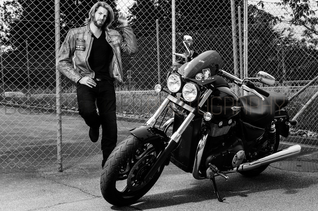 Rider | Motorrad Shooting mit Model Dani