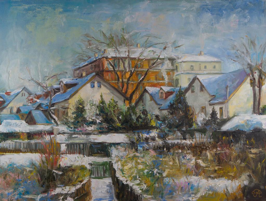 Vom Garten zum Buchberg | Originalformat: 60x80cm  -   Produktionsjahr: 2009