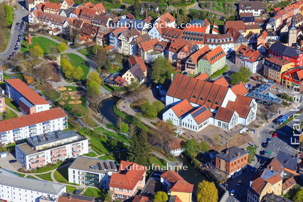 kulmbach-2016-3203   Luftbild von  Kulmbach - Luftaufnahme wurde 2016 von https://frankenair.de mittels Flugzeug (keine Drohne) erstellt - die Geschenkidee