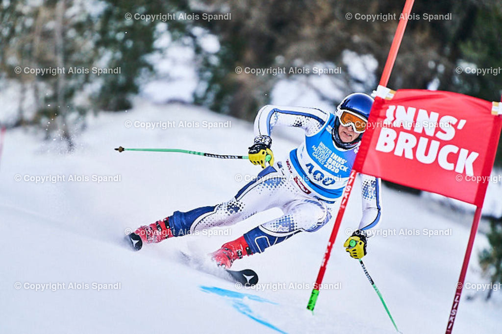 ALS5687_WWMG_GS-II_C   (C) FotoLois.com, Alois Spandl, WinterWorldMastersGames 2020 Innsbruck, Giant Slalom-II Gruppe C Damen, Patscherkofel Olympiaabfahrt, Mi 15. Jänner 2020.