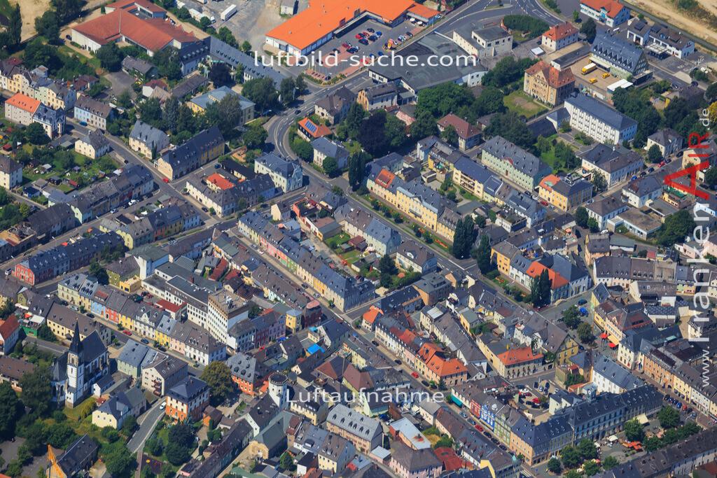 wunsiedel-2014-101   Luftbild von  Wunsiedel - Luftaufnahme wurde 2014 von https://frankenair.de mittels Flugzeug (keine Drohne) erstellt - die Geschenkidee