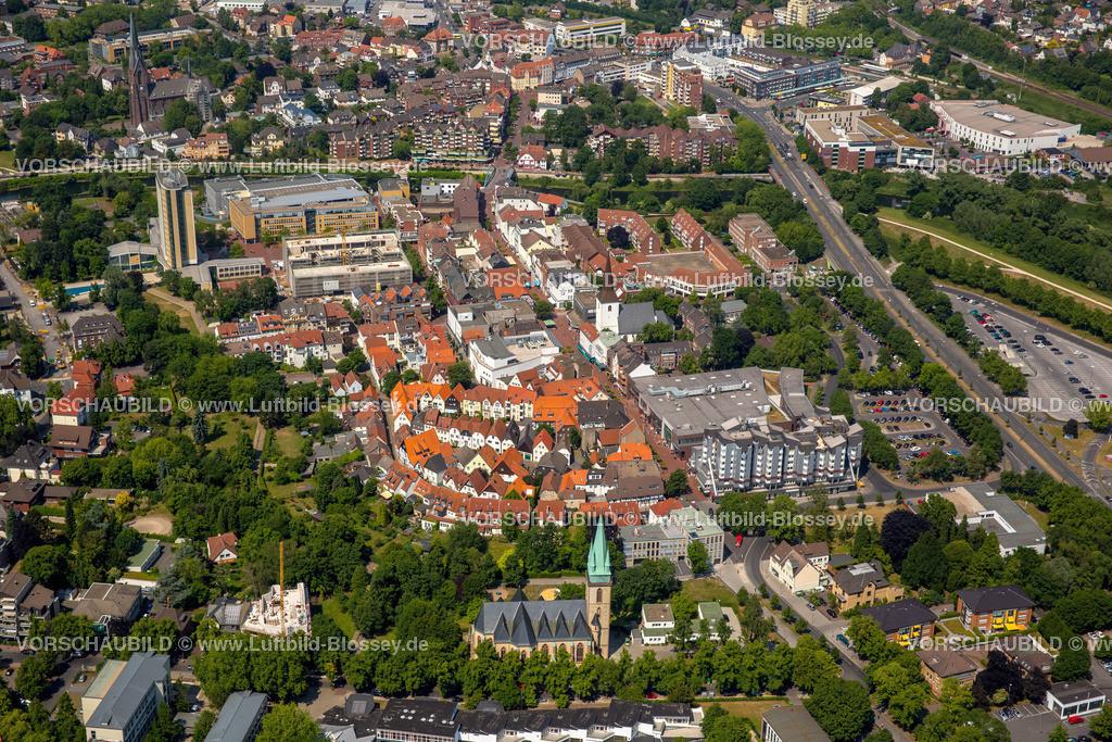 Luenen15064079 | Blick auf den Stadtkern von Lünen mit dem Umbau des Hertie-Hauses, Lünen, Ruhrgebiet, Nordrhein-Westfalen, Deutschland