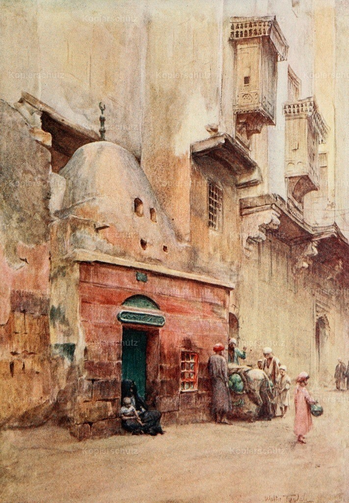 Tyndale_ W. (1855-1943) - Below the Cataracts 1907 - Sheykh_s tomb at Cairo