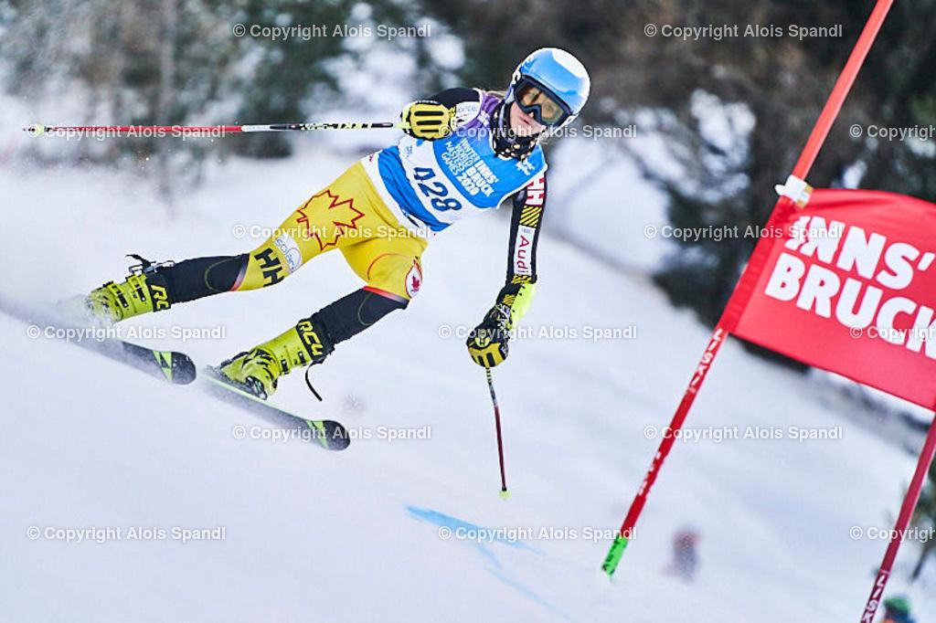 ALS5821_WWMG_GS-II_C | (C) FotoLois.com, Alois Spandl, WinterWorldMastersGames 2020 Innsbruck, Giant Slalom-II Gruppe C Damen, Patscherkofel Olympiaabfahrt, Mi 15. Jänner 2020.