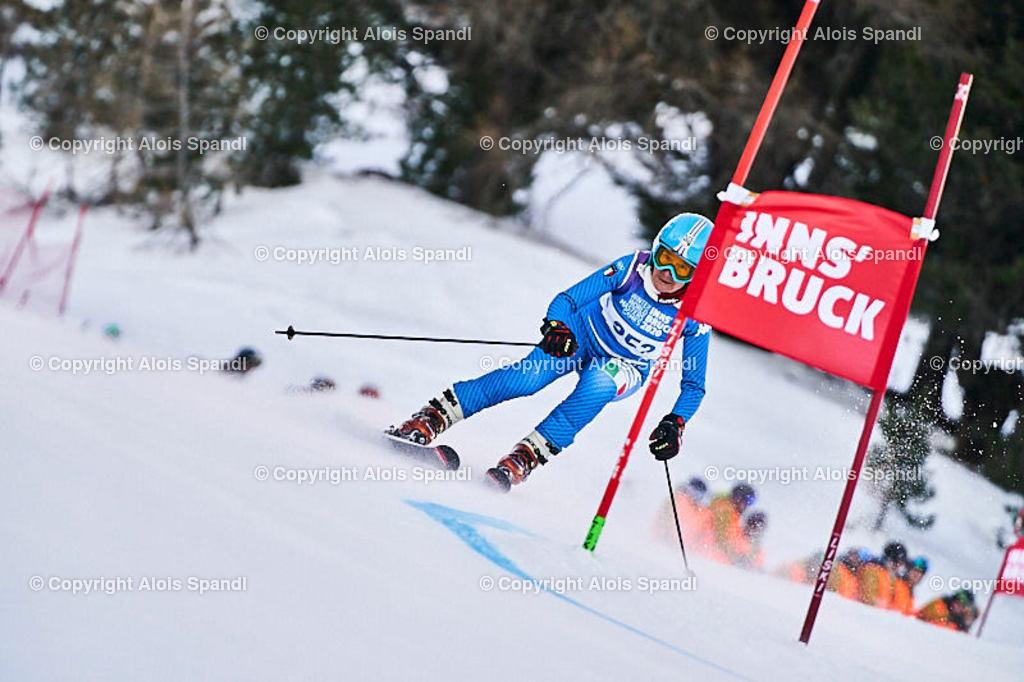 ALS5416_WWMG_GS-II_C | (C) FotoLois.com, Alois Spandl, WinterWorldMastersGames 2020 Innsbruck, Giant Slalom-II Gruppe C Damen, Patscherkofel Olympiaabfahrt, Mi 15. Jänner 2020.