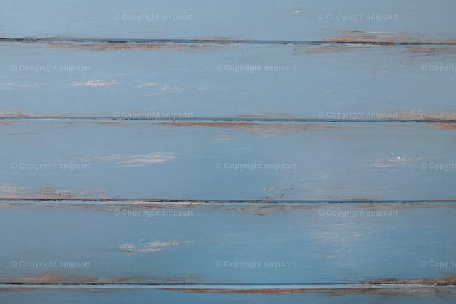 Blaue Bretter | Abgenutzte blaue Bretter im French style als Hintergrund.