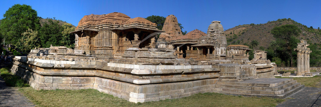 Indien_ Tempel von Nagda