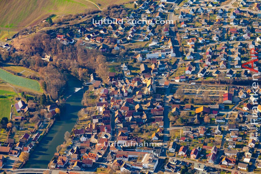 marktzeuln-19-35   aktuelles Luftbild von  Marktzeuln - Luftaufnahme wurde 2019 von https://frankenair.de mittels Flugzeug (keine Drohne) erstellt.
