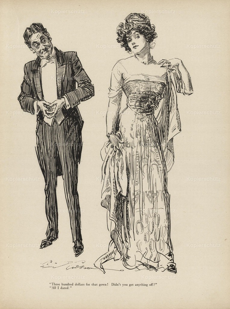 Gibson_ Charles Dana (1867-1944) - Gibson New Cartoons 1916 - Couple