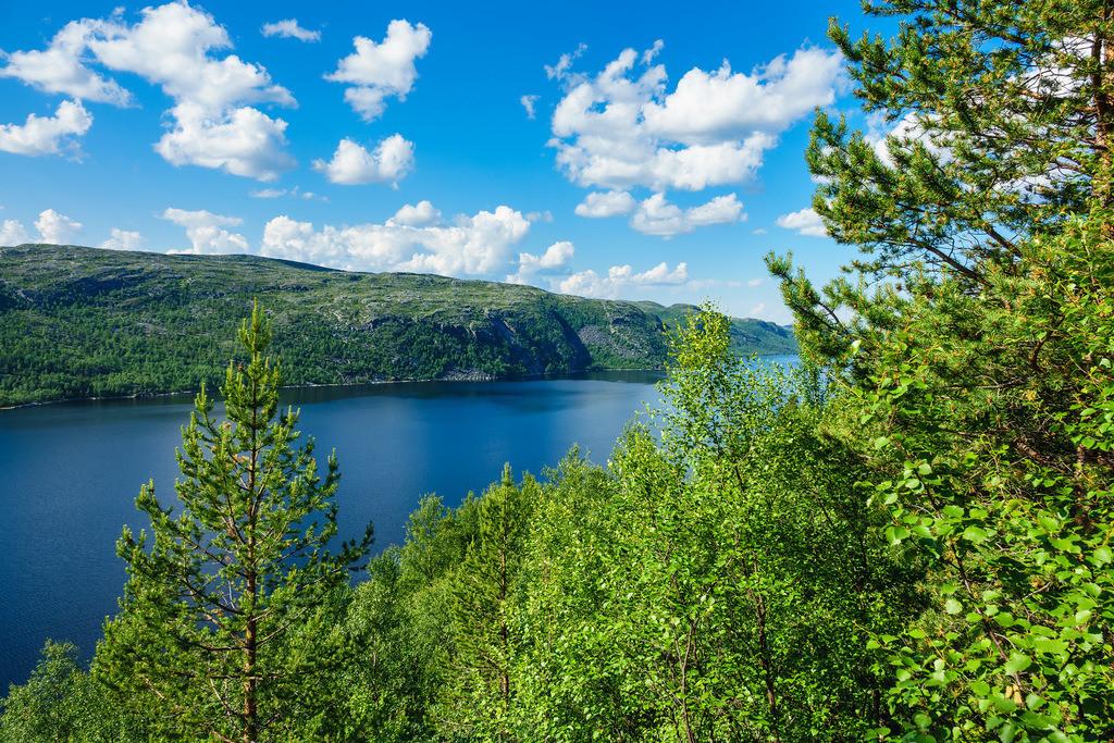 Blick auf den Varangerfjord in Norwegen | Blick auf den Varangerfjord in Norwegen.