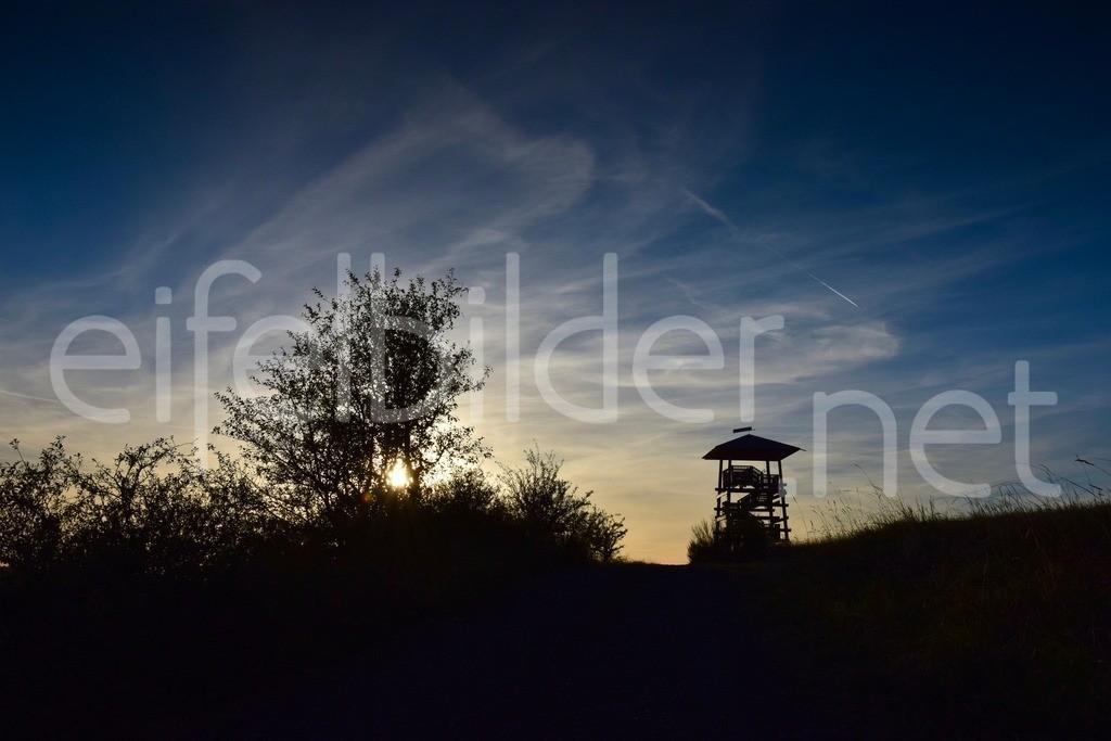 Sonnenuntergang in Meerfeld  | Meerfeld, Eifel, Vulkaneifel