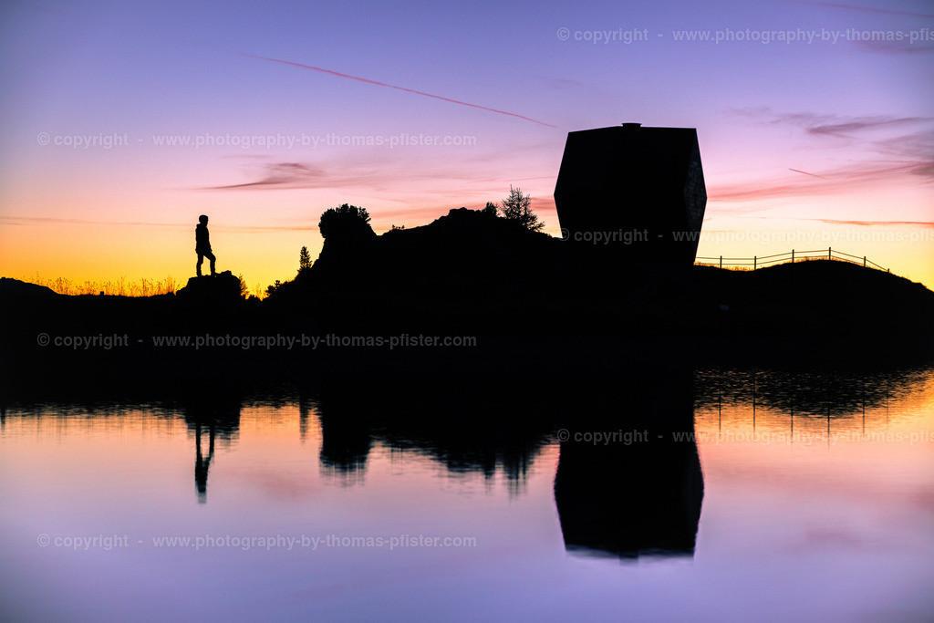 Granatkapelle am frühen Morgen