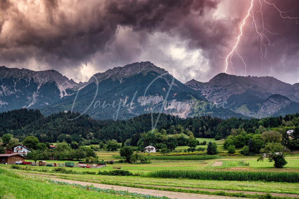 Gewitter | Gewitter über dem Karwendel