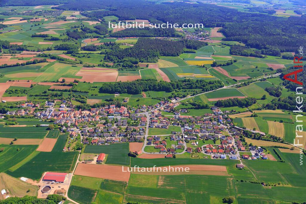 trosdorf-bischberg-18-330 | aktuelles Luftbild von Trosdorf Bischberg - Luftaufnahme wurde 2018 von https://frankenair.de mittels Flugzeug (keine Drohne) erstellt.