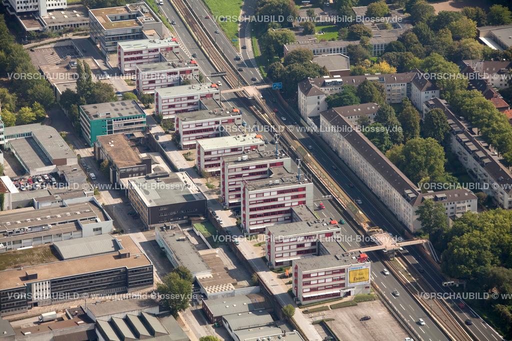 ES10095587 | Luftbild, ETEC Essen an der A40, Technologiezentrum Essen,  Essen, Ruhrgebiet, Nordrhein-Westfalen, Germany, Europa, Foto: hans@blossey.eu, 11.09.2010