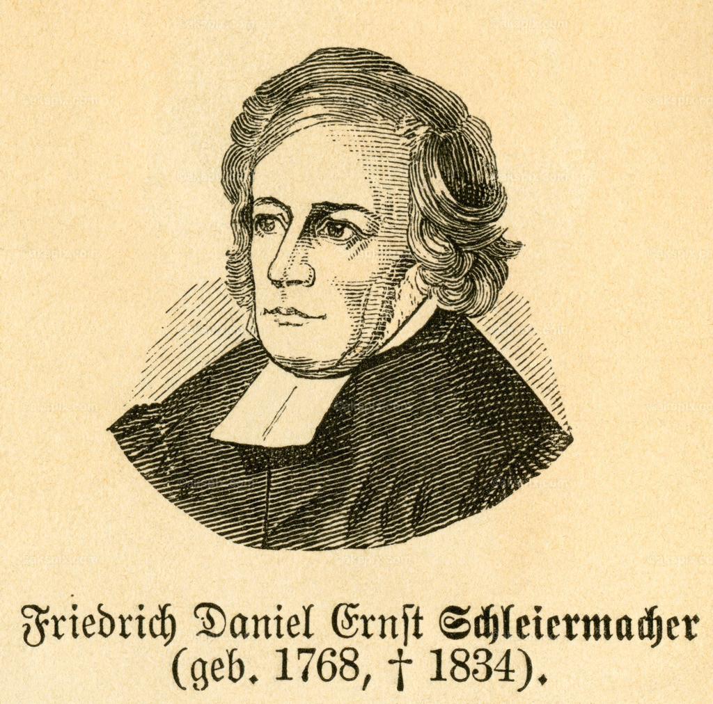 Friedrich Schleiermacher /  Friedrich Schleiermacher | Europa, Deutschland, Berlin, Friedrich Daniel Ernst Schleiermacher, evangelischer Theologe und Philosoph, , Motiv aus :