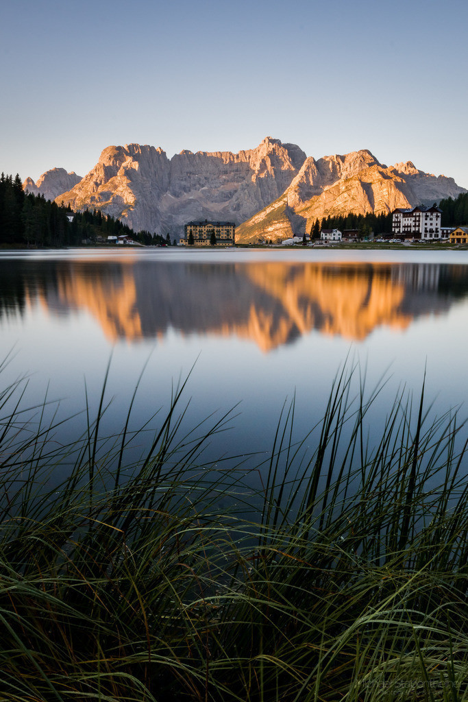 Lago di Misurina | Sonnenaufgang am Lago di Misurina in Südtirol