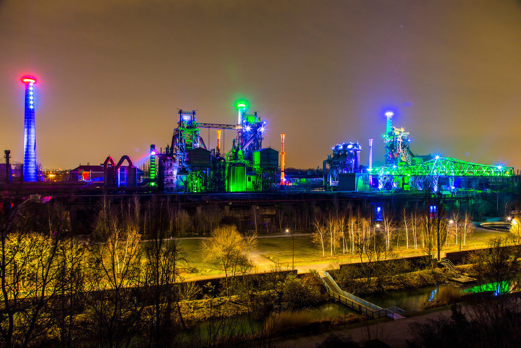 JT-160228-013 | Duisburg, Landschaftspark Duisburg Nord, ehemaliges Hüttenwerk, Stahlwerk,