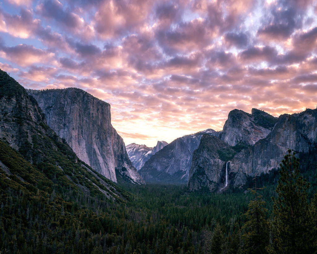 Yosemite Valley Sunrise