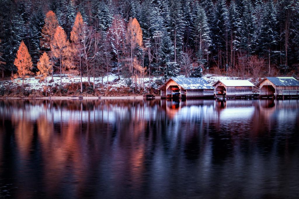Erster Winterhauch am See | Altausseersee