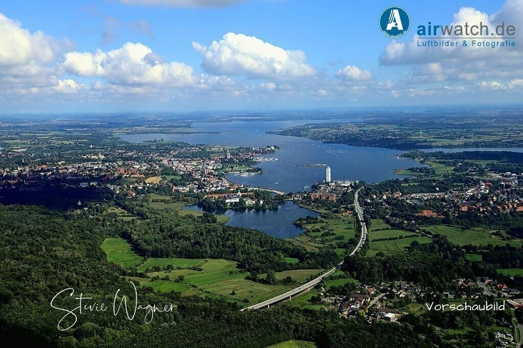 Luftbild Schleswig, Schlei, Schloss Gottorf, Ostseefjord | Luftbild Schleswig, Schlei, Schloss Gottorf, Ostseefjord • max. 6240 x 4160 pix