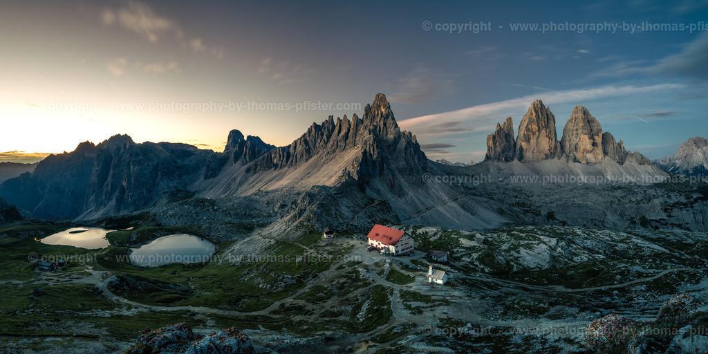 3 Zinnen Dolomiten Morgens-1