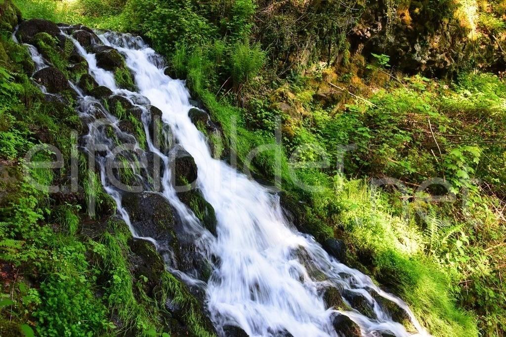 Wasserfall an der Käsegrotte | Wasserfälle an der Käsegrotte / Elfengrotte in Bad Bertrich, Kreis Cochem Zell