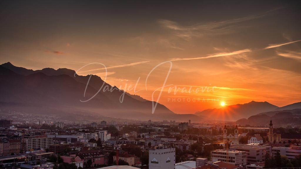 Sonnenaufgang | Sonnenaufgang in Innsbruck