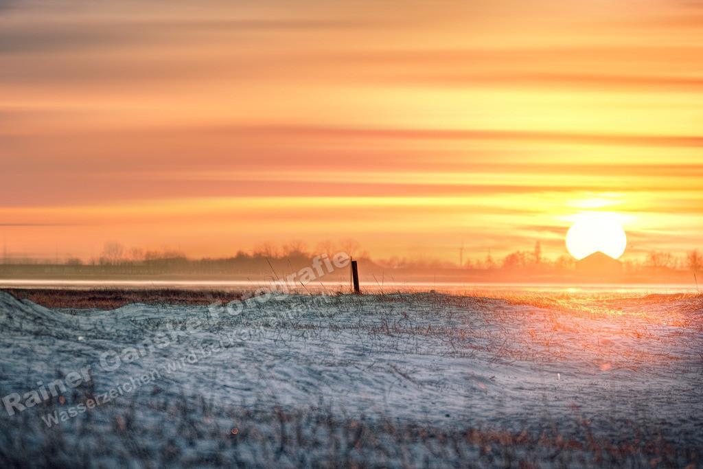 170324-3-Hooksiel Sonnenuntergang Strand