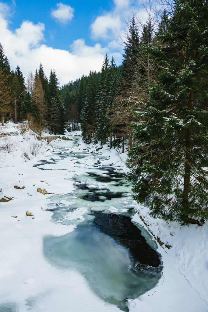 rk_04486 | Winter im Riesengebirge bei Spindlermühle, Tschechien.