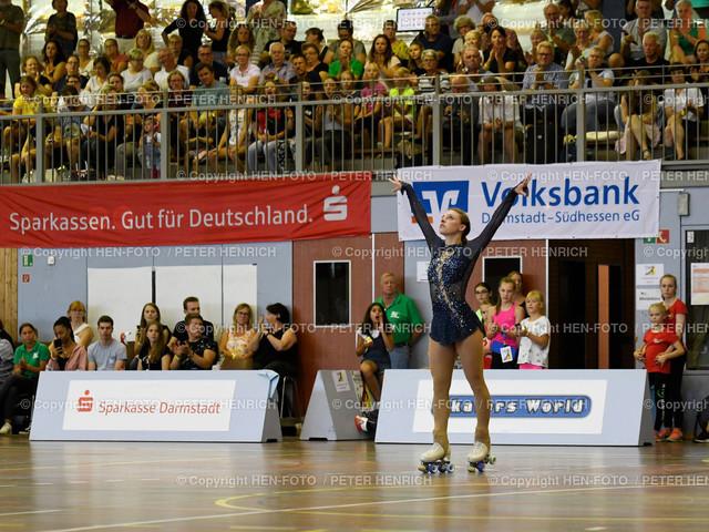 Deutsche Meisterschaften Rollkunstlauf in Ober-Ramstadt 20190803 copyright by HEN-FOTO | Deutsche Meisterschaften Rollkunstlauf in Ober-Ramstadt 20190803 Sofie Hofferberth copyright + Foto: Peter Henrich (HEN-FOTO)