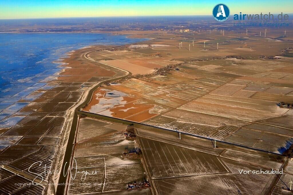 Winter Luftbilder, Nordsee, Nordfriesland, Siemonsberg, Uelvesbuell | Winter Luftbilder, Nordsee, Nordfriesland, Siemonsberg, Uelvesbuell