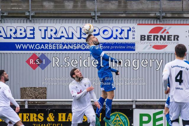 190127_RS-180270_NIK_4888 | Foto des SVCN Rückrunden Vorbereitungsturnier-Finales zwischen SV Curslack-Neuengamme I. und Lüneburger SK Hansa I. am 27.01.2019 auf dem Kunstrasenplatz in Curslack.