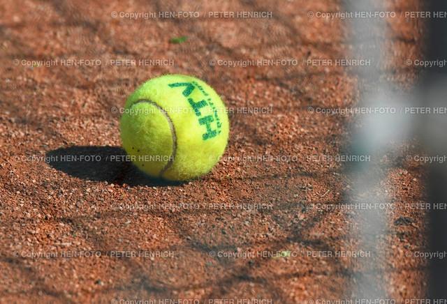 Tennis Bezirksmeisterschaft Finale TEC Darmstadt - copyright by HEN-FOTO | Tennis Bezirksmeisterschaft Aktive Finale bei TEC Darmstadt 23.05.2021 - neuer Ball für Medenrundenstart - copyright by HEN-FOTO Peter Henrich