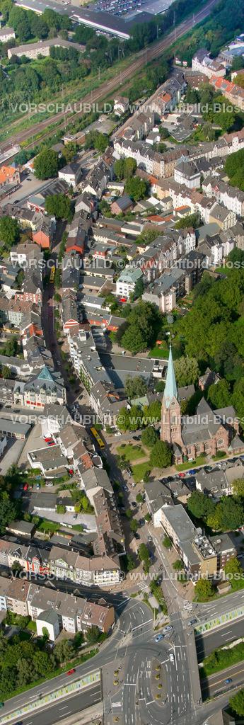 ES10094193a | Kray, Krayer Strasse, Luftbild,  Essen, Ruhrgebiet, Nordrhein-Westfalen, Germany, Europa, Foto: hans@blossey.eu, 05.09.2010