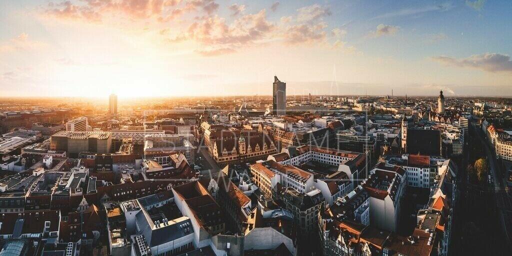 Leipzig Panorama Frühling 2020 web