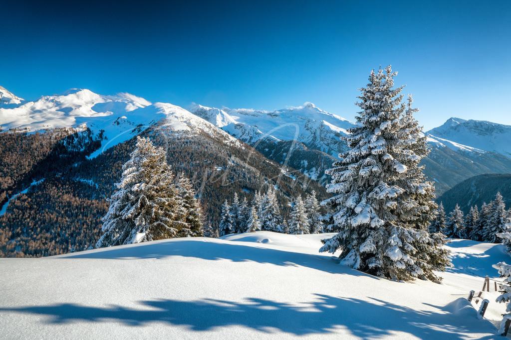 Brenner | Blick in die Brennerberge