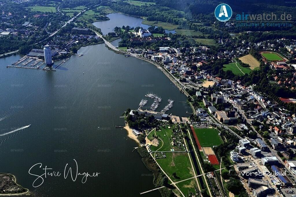 Luftbild Schleswig, Luisenbad, Koenigswiesen, Moevenberg | Schleswig, Luisenbad, Koenigswiesen, Moevenberg • max. 6240 x 4160 pix