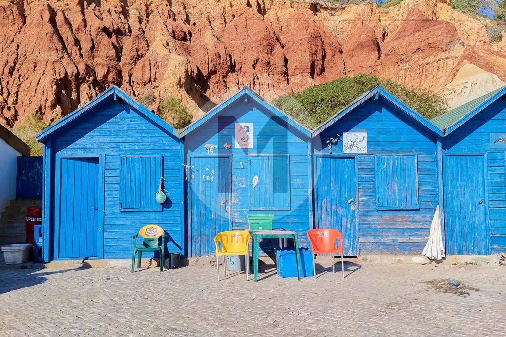 An der Algarve in Portugal, Impressionen der Küste