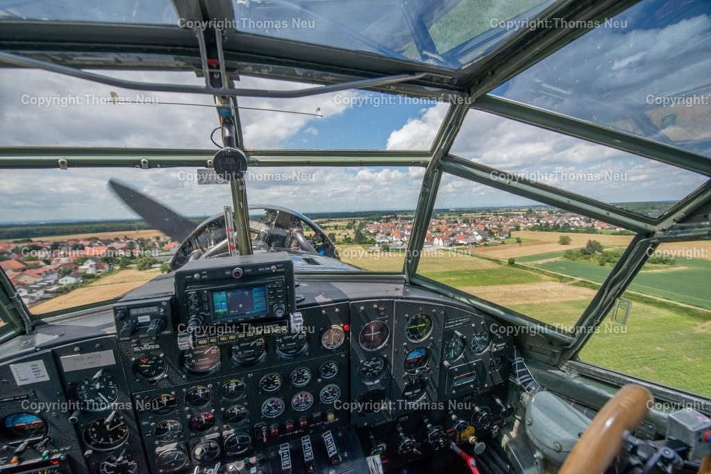 DSC_3357 | Bensheim,Flugtag, Fotograf Thomas Neu flog mit der Ju 52,  Bild. Thomas Neu