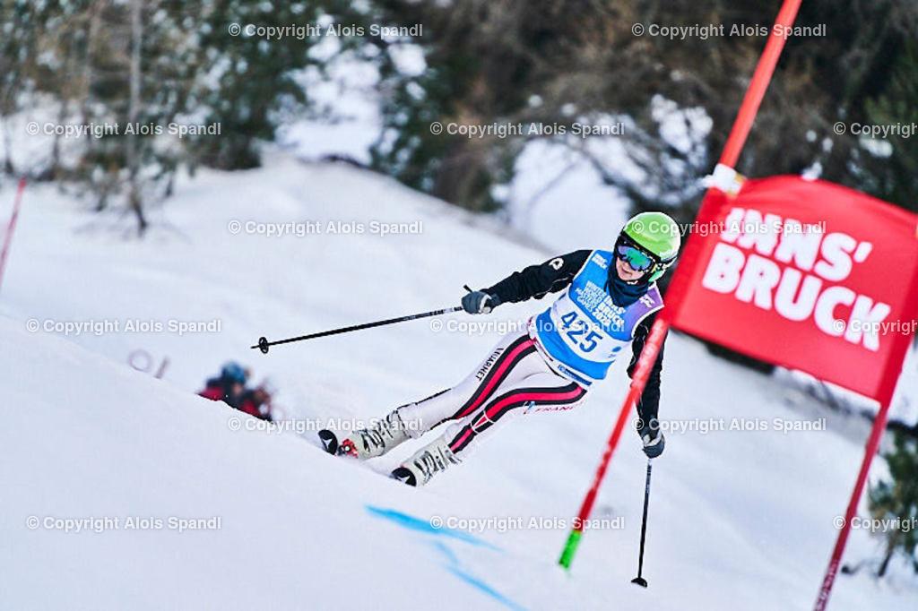 ALS5808_WWMG_GS-II_C | (C) FotoLois.com, Alois Spandl, WinterWorldMastersGames 2020 Innsbruck, Giant Slalom-II Gruppe C Damen, Patscherkofel Olympiaabfahrt, Mi 15. Jänner 2020.