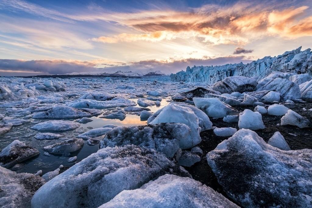 Jökulsarlon Gletscher