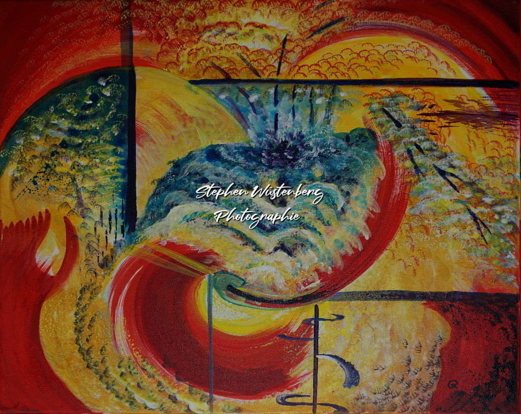 Gingel-0054 Farbenspiel 2   Roland Gingel Artwork @ Gravity Boulderhalle, Bad Kreuznach  Bilder dieser Galerie sind noch nicht im Verkauf. Wenn Sie Repros erwerben möchten, finden Sie diese in der Untergalerie
