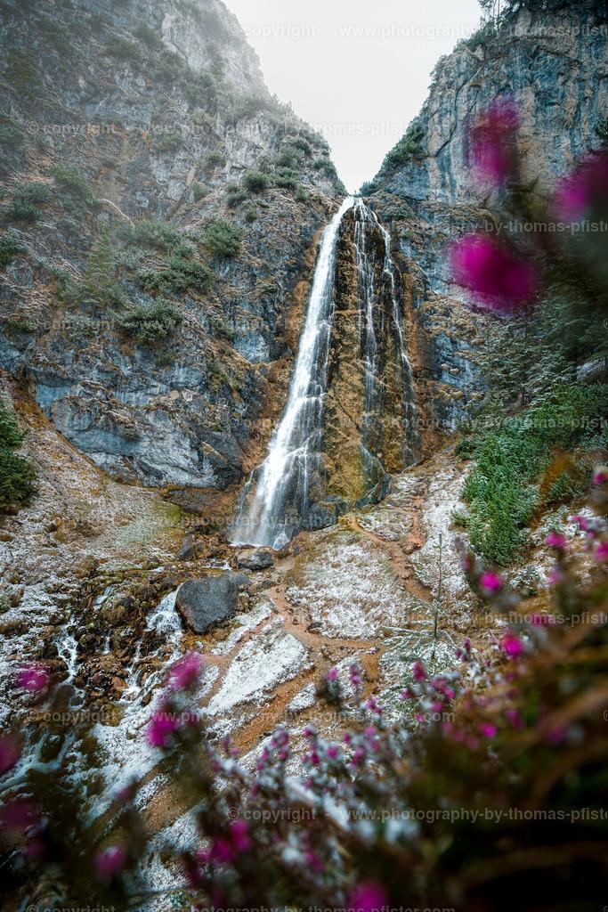 Dalfazer Wasserfall Achensee Frühling