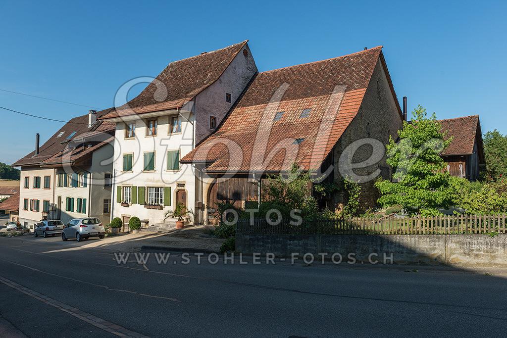 Bauernhaus, Rünenberg (BL) | Historische Bauernhäuser im Unterdorf, Rünenberg im Kanton Baselland.