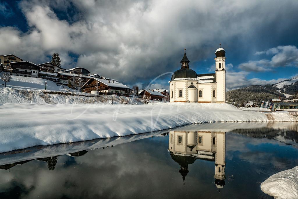 Seefeld   Seefelder Seekirchl im Winter