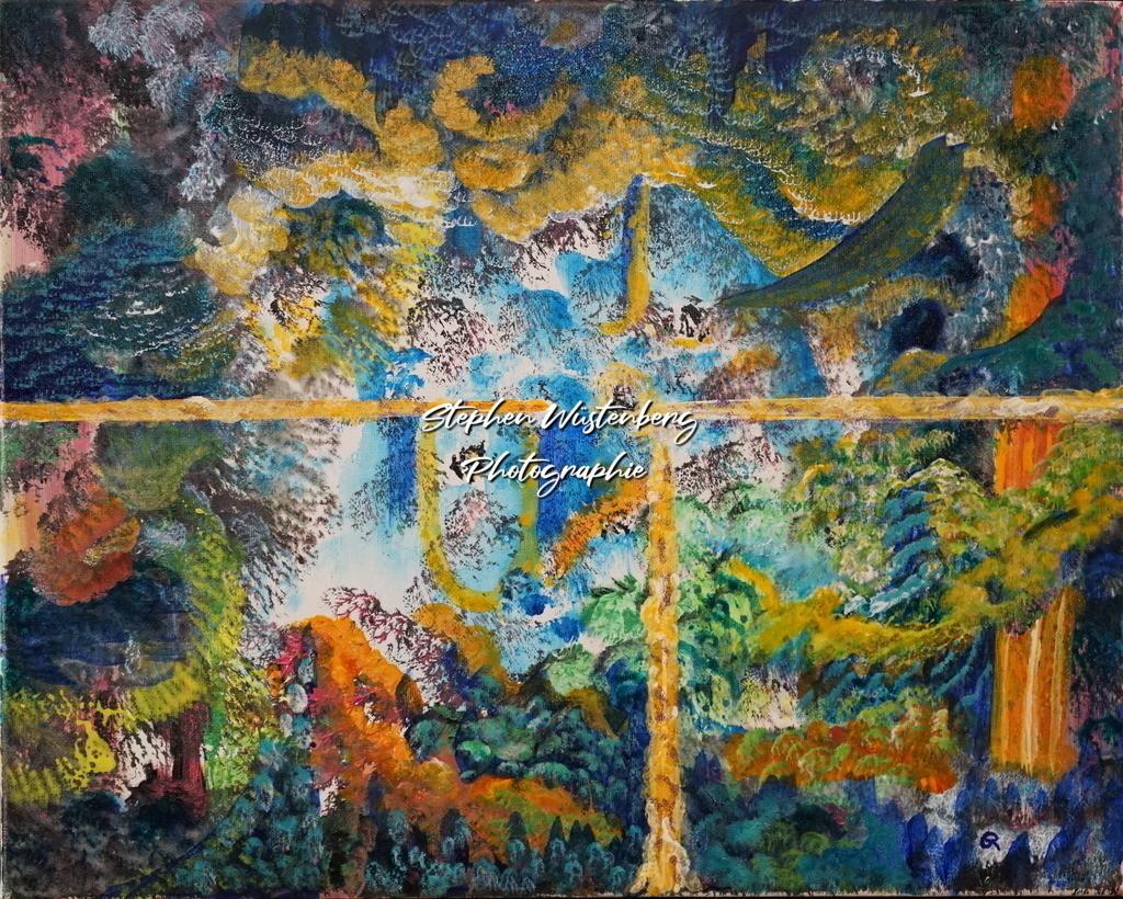 Gingel-0055 Farbenspiel 3 | Roland Gingel Artwork @ Gravity Boulderhalle, Bad Kreuznach  Bilder dieser Galerie sind noch nicht im Verkauf. Wenn Sie Repros erwerben möchten, finden Sie diese in der Untergalerie